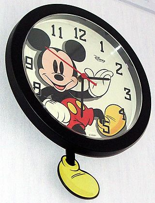 Mickey clock