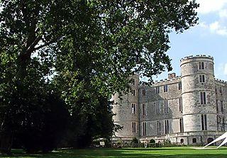 Red castle side
