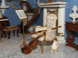 Red music room