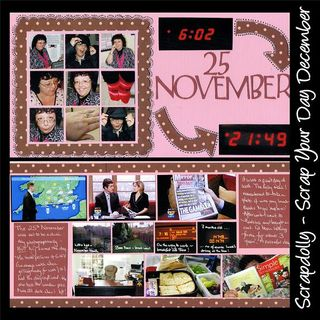 Scrap your day November