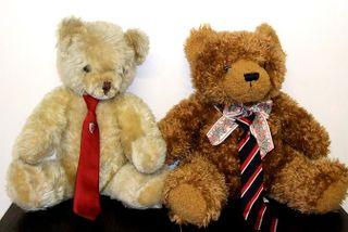 8 Jan 2 school teddies red