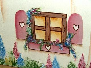 Tissue box windows