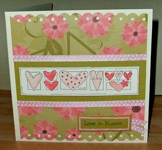 Love in bloom card
