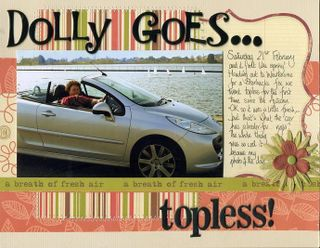 Dolly goes topless