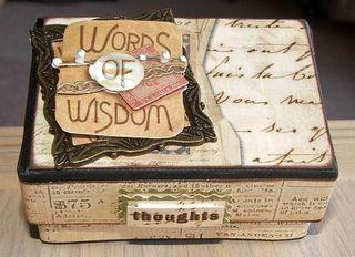Wisdom box top