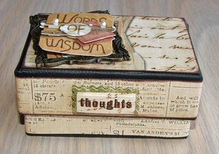 Wisdom box side