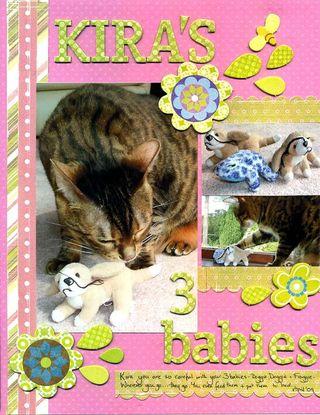 Kira's 3 babies