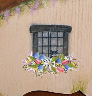 Cottage simba window red