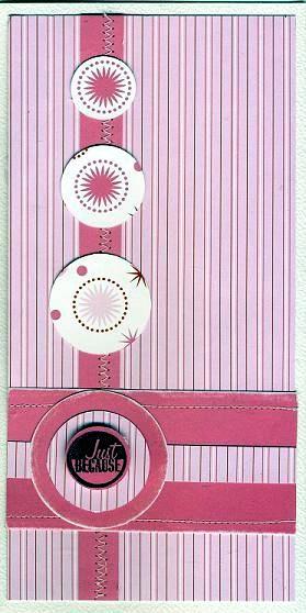 Card skecth 1 pink