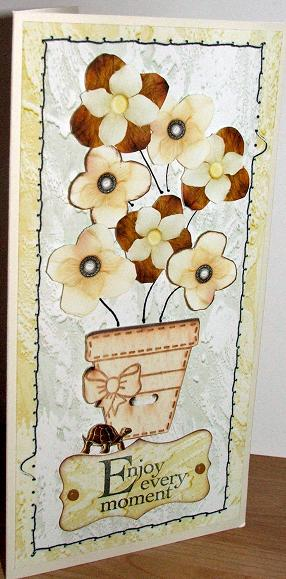 Treacle tart card