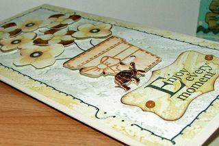 Treacle tart card close