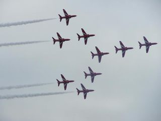 Red arrows 5
