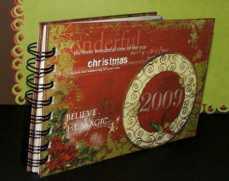 Christmas journal all