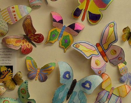 Butterflies close