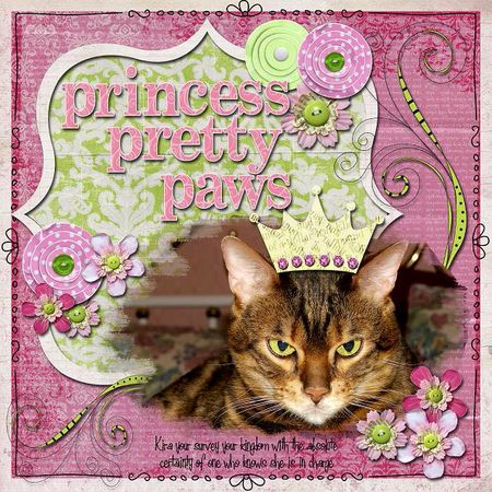 Princess pretty paws