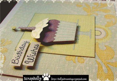 Cupcake card 3d blog