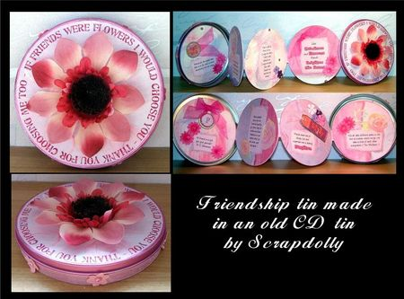 Friendship tin