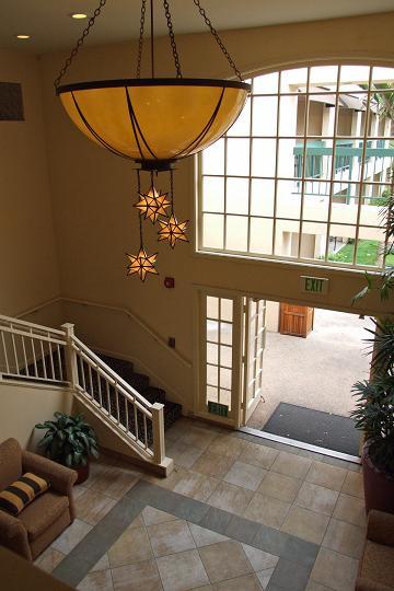 Red balboa lobby