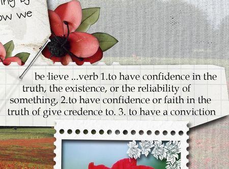 Believe close definition