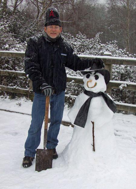 Snowy-men