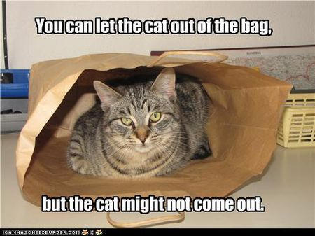 Cat-out-of-the-bag