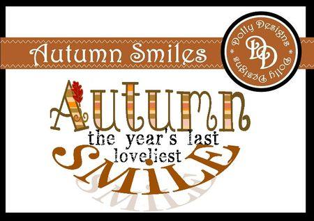 Autumn smiles preview
