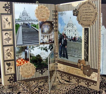 Paris album sacre card