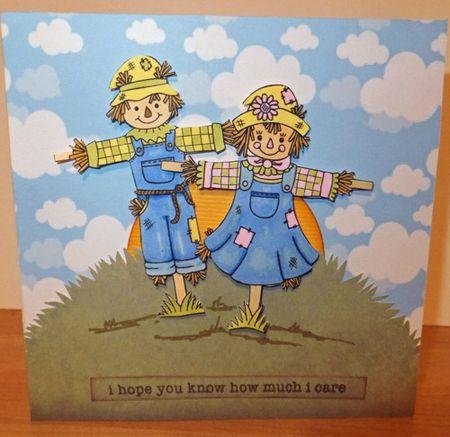 Scarecrow-card