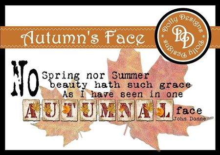 Autumnal Donne Preview