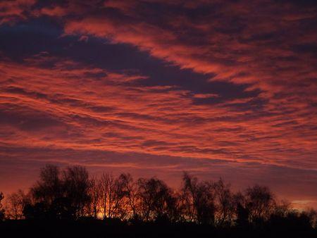 Xmas-sunset
