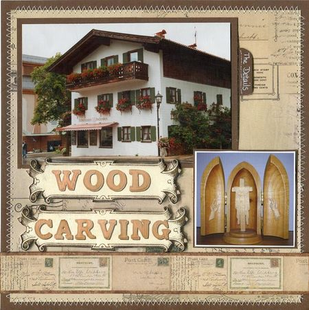 Austria wood carving nu