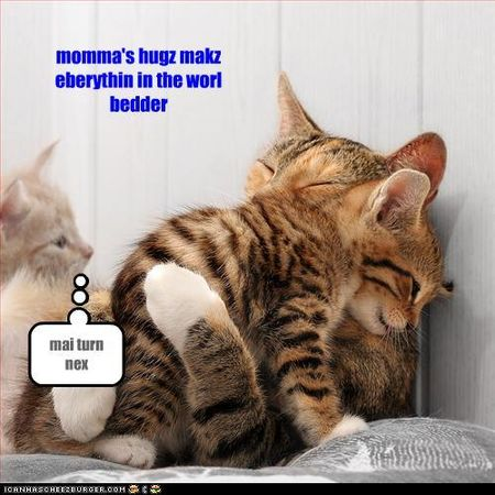 Momma hug