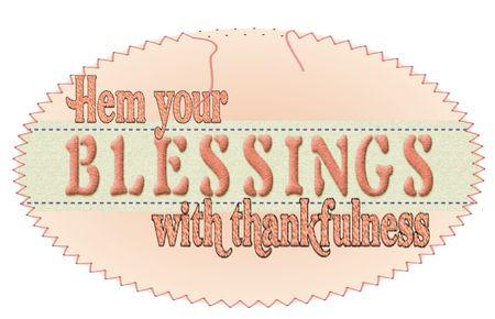 Hem blessings fixed