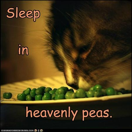 Heavenly peas