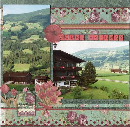 Austria model railway NU