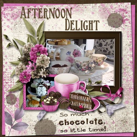 Afternoon-tea nu