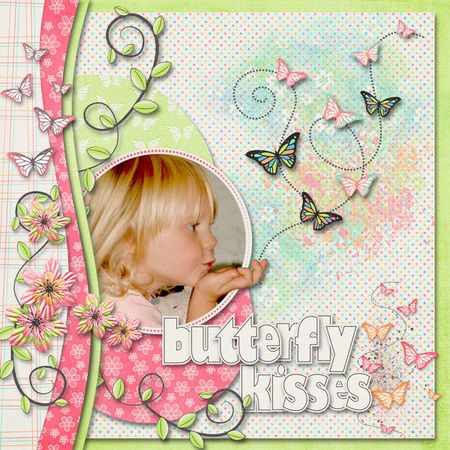 Butterfly-kisses