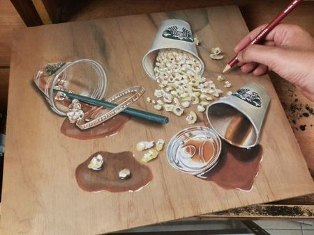 Pastel-Drawing-On-Wood-By-Ivan-Hoo33__880