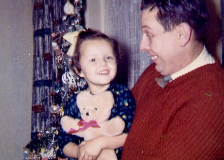 Xmas 1963 and daddy copy