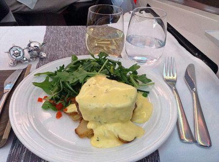 Flight-dinner