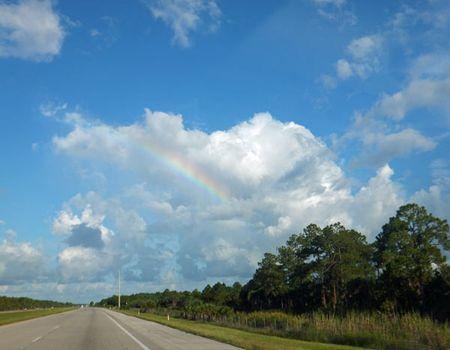 Monsoon-rainbow