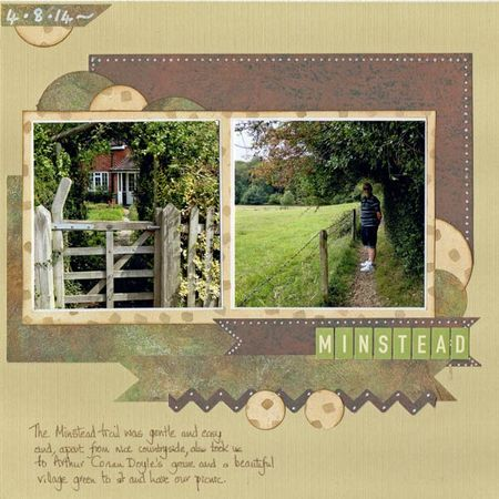 Minstead-trail