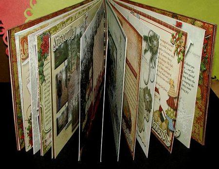 Christmas journal all inside