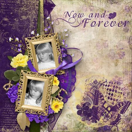 Scrapbook - now and forever