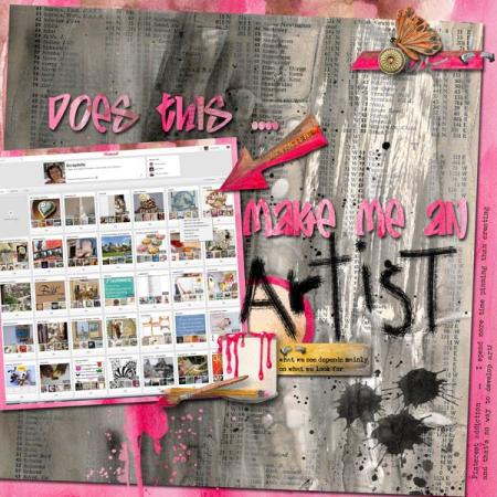 Create art artsist