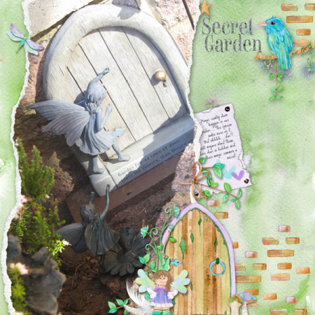 Secret-garden doors