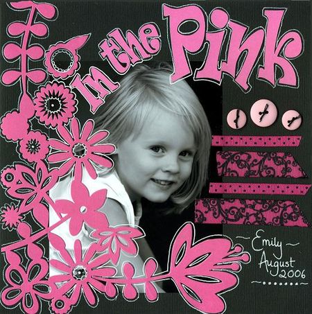 In the pink Dec