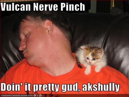 Nerve pinch