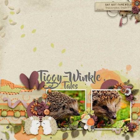 Hedgehog-love-scrapbook