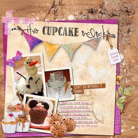 Cupcake-o'clock